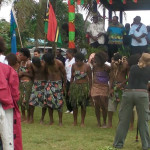 Commemoration Day Vanuatu 28th July 2013 - re-enactment