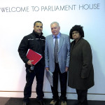 Danny, Clive & Shireen - Canberra Parliament House – 2013