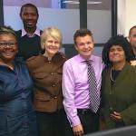 ASSI-PJ members with Senator Matt Thistelwaite - Pacific Island Minister 2013