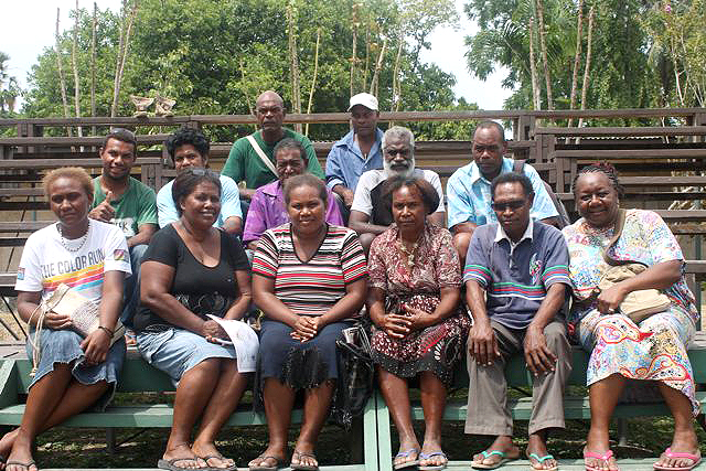 Committee members for FAENDEM BAEK FAMILI Association nominated representing the 10 provinces of the Solomon Islands 2013