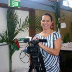 NITV reporter Michelle Tuahini