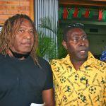 Trevor Corowa and Ni Vanuatu representative