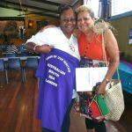 Wantok 2012 participants  Pam & Emelda Davis