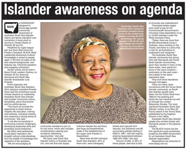 South Sea Islander Newspaper