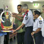 Caboolture 2011 - Vanuatu Shield to QLD Police Commission