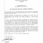 Memorandum from Bob Carr - 1994