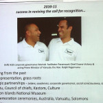 Success in reviving the call for recognition, Mauritius presentation power point extract