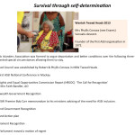 Survival through self determination, Mauritius presentation power point