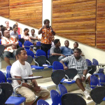 Solomon Island National Universty lecture with Prof. Clive Moore