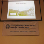 National universty lecture with Prof. Clive Moore on Modern Honiara