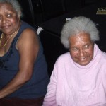 Phyllis Corowa (nee Enares) and her sister Nellie Enares