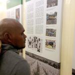 Participant at International Museum Day - Honiara Cultural Centre Blackbirding Exhibit 2014