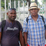 Graham Mooney (right) find Viti family in Solomons