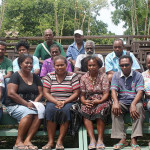 Committee Members for FINDEM BAEK FAMILI Assoc nominated representing the 10 provinces of the Solomon Islands 2013